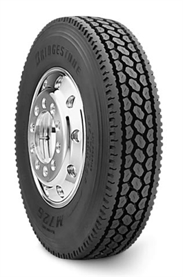 Bridgestone,  11R24.5,  16 Ply  -  M726ELA Closed Shoulder,  Truck Radial  -  TL  -  11245  -  W1-005315