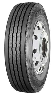 BFGoodrich, 275/80R22.5  ST-244 Steer China  14 Ply  TL. Truck Radial - 27580225 - 61456CH
