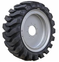 Dobermann, 33x12-20 (12-16.5-20) Solid R4 Skid Steer, Assembly Tire and Wheel  - 331220 - 1216520 - D12-165.5-20